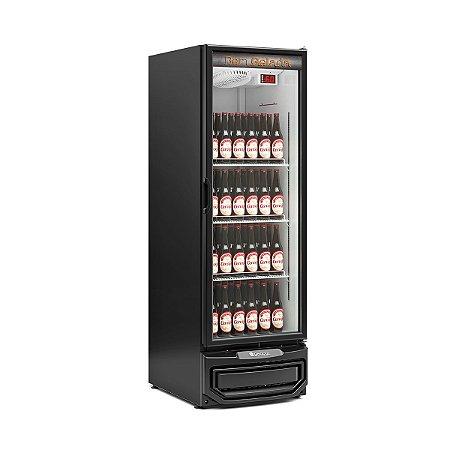 Cervejeira Porta de Vidro 570 litros GCB 57V PR Gelopar
