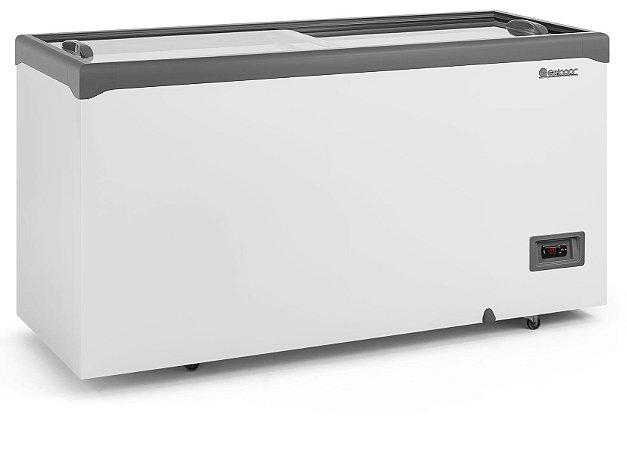 Freezer Conservador Horizontal Tampa de Vidro Com Iluminação 510 litros GHD-51E L CZ Gelopar