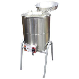 Fritador Eletrico  Agua E Oleo 24 litros reativada 220V -FCR-N Skymsen
