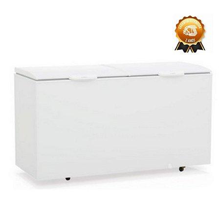 Freezer Horizontal Gelopar 2 tampas 510 litros GHBS-510