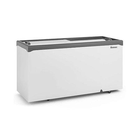 Freezer Conservador Horizontal Tampa de Vidro 510 litros GHDE-510H Gelopar