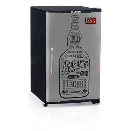 Cervejeira Porta Cega 120 litros GRBA-120GW Gelopar