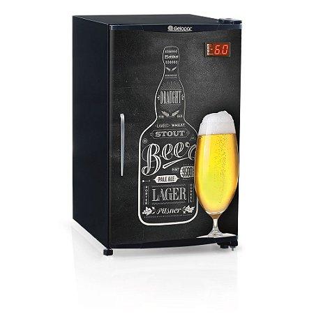 Refrigerador de Bebidas Cervejeira 120 litros GRBA-120QC Gelopar