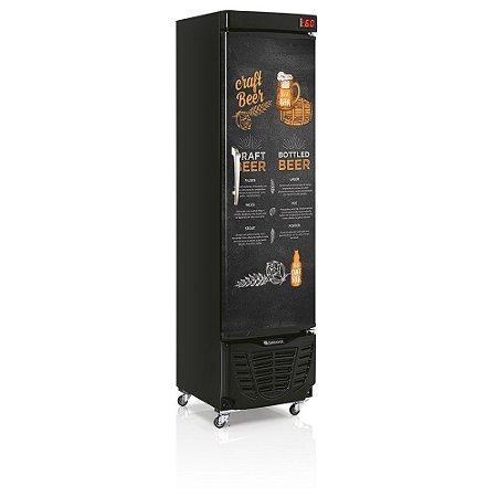 Cervejeira 230 litros Porta Sólida GRBA - 230 ECB Gelopar