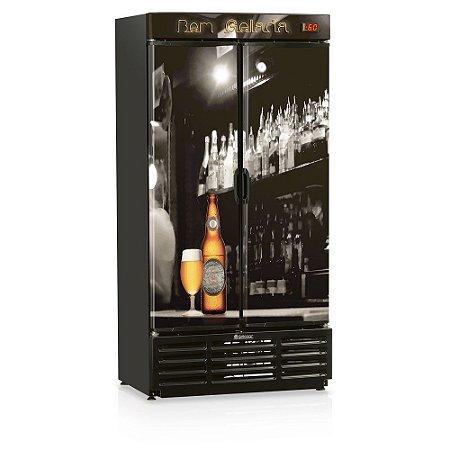 Refrigerador de bebidas cervejeira duas portas 760 litros - GRBA-760B - Gelopar