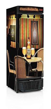 Cervejeira Porta Cega 570 litros GRBA-570R Gelopar