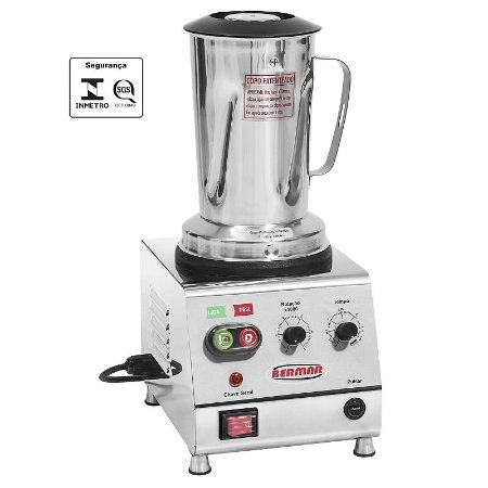 Blender Industrial 2 Litros para Açai BM100-NR Bivolt