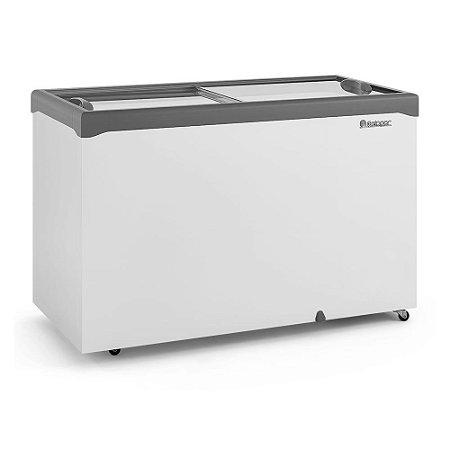 Freezer Conservador Horizontal Tampa de Vidro 410 litros GHDE-410H  Gelopar