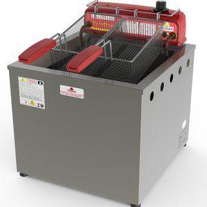 Fritadeira Elétrica Inox água e óleo inox 18l - PR100E - Progás