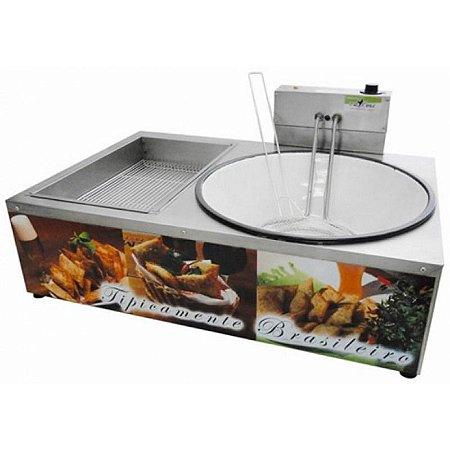 Fritadeira para pastel elétrica 7 litros - FPMI7 - Ital Inox