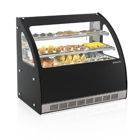 Vitrine Estufa Linha Gourmet Elegance Bancada - MGEB-110 - Gelopar