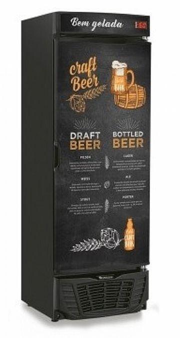 Refrigerador de Bebidas Cervejeira 450 litros GRBA-450CB Gelopar