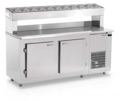 Balcão Refrigerado Condimentaria GBPZ-190