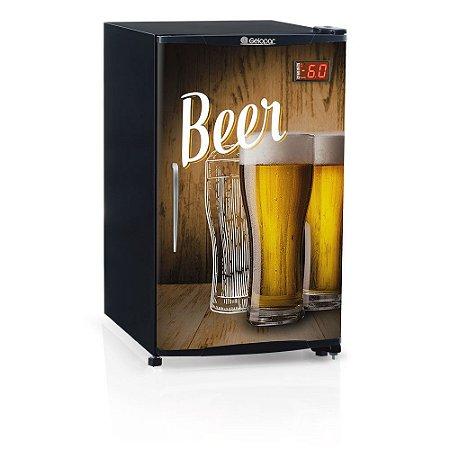 Cervejeira 120 litros - Refrigerador de Bebidas GRBA-120WD 220v Gelopar