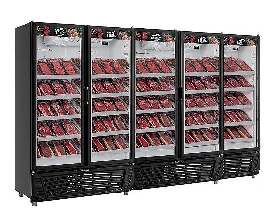 Expositor de Carnes Vertical 5 portas GRVA-2500 PR