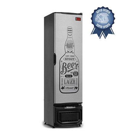 Cervejeira 230 Litros Porta Sólida GRB - 23 EP GW Gelopar