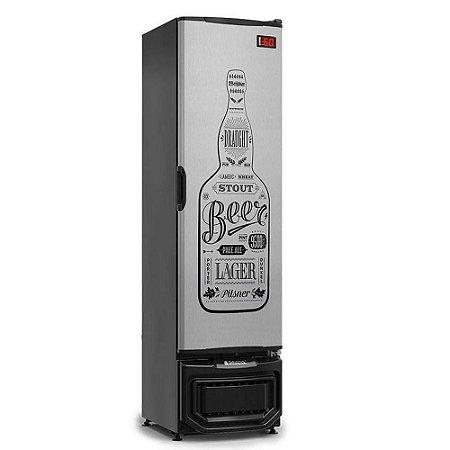 Cervejeira 230 Litros Porta Sólida - 230 Litros Gelopar - GRB-23EPGW