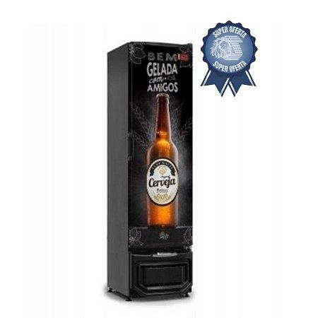 Cervejeira 230 Litros Porta Sólida Gelopar GRB - 23 EP PR
