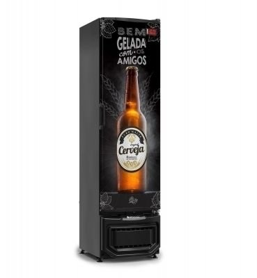 Cervejeira 230 Litros Porta Sólida - 230 Litros Gelopar - GRB-23EPPR