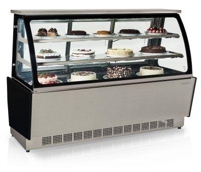 Vitrine Refrigerada Dupla Função Linha Gourmet Elegance GGSR-180 TI Gelopar