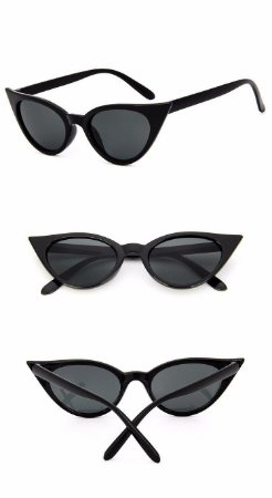 a2cba41372642 Oculos De Sol Mini Gatinho Vintage Retrô Celebridades Lolita