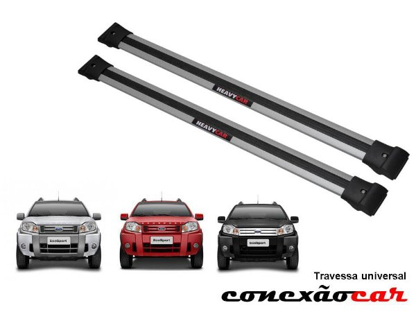 Travessa de Teto Larga Ecosport 2010 a 2012 Heavy Car