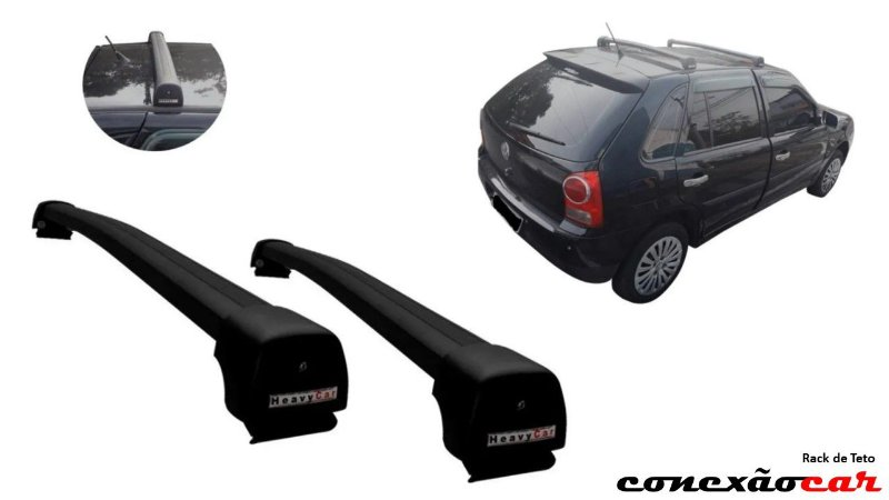 Rack de Teto para Gol G2 G3 G4 Heavy Car