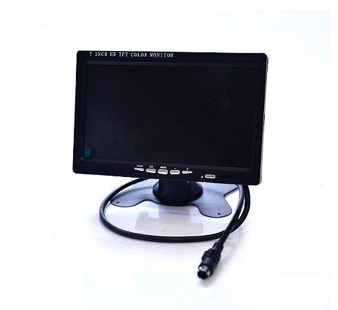 Tela Monitor Para Cftv Lcd De 7 Polegadas