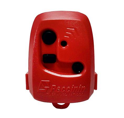 Controle Pecinnin Para Portão Eletrônico 433 Mhz Vermelho