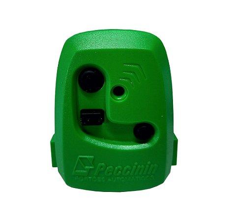 Controle Pecinnin Para Portão Eletrônico 433 Mhz Verde