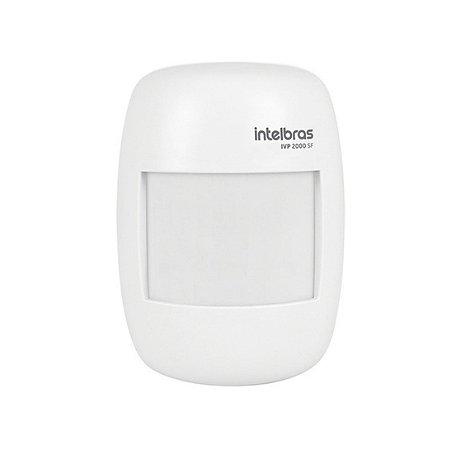 Sensor De Presença Infravermelho Sem Fio Ivp 2000 Sf - Intelbras