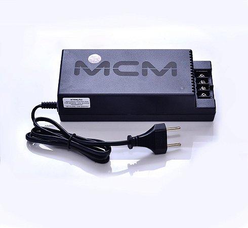 Fonte Eletrônica Ajustável 12v/14v 10a Smart Meter Mcm