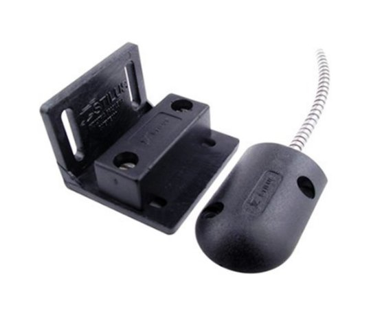 Mini Sensor Magnético Com Fio Para Porta De Aço Stilus