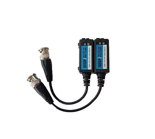 Conversor Balun Par Trançado Passivo - 4x1 Full HD