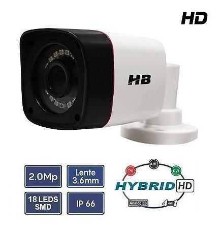 Câmera De Segurança Hb Tech 4 Em 1 Full Hd 1080p