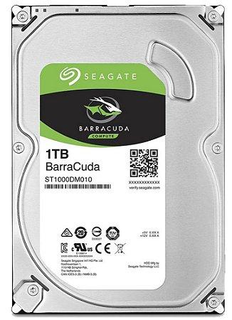 HD Seagate 1TB SATA 3,5´ BarraCuda  7200RPM 64MB Cache SATA 6Gb/s - ST1000DM010