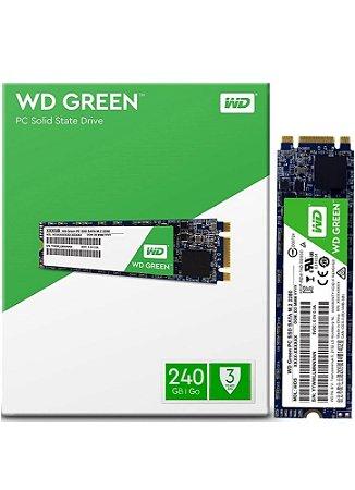 SSD WD 240GB Green M.2 2280  - WDS240G2G0B
