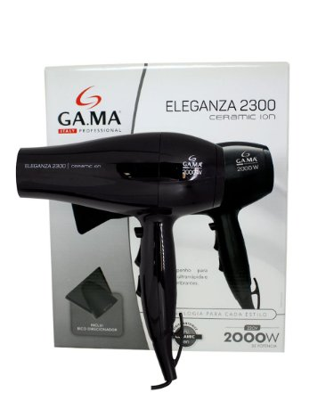 d657dbd58 Secador Eleganza 2300 Gama - Potencia 2000w - 220v - Kalinda sua ...