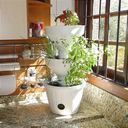 Mini Horta Vertical Verde Vida