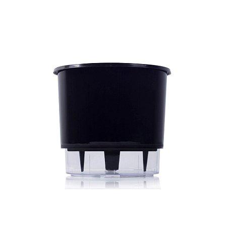 Vaso Auto Irrigável Pequeno - Preto