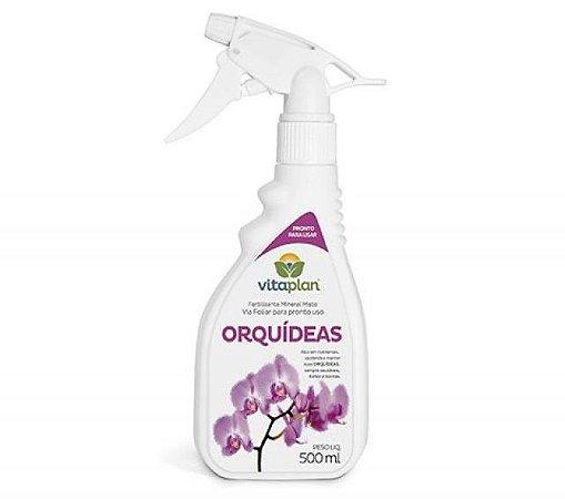Fertilizante Foliar Orquideas 500 ml - Vitaplan