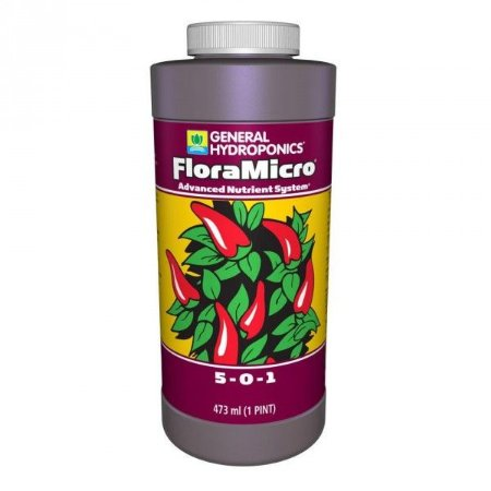 Fertilizante General Hydroponics Floramicro 473ml
