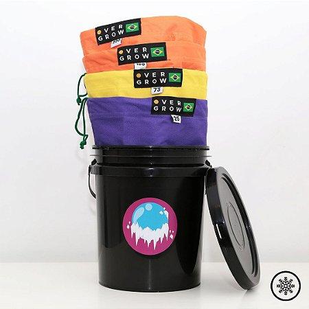 Kit Ice Bag OG - 4 Bags C/ Balde - 5 Litros