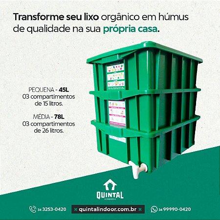 Composteira Pequena - 45 L