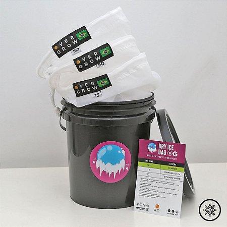 Kit Dry Ice Bags - 3 Bags C/ Balde - 5 Litros