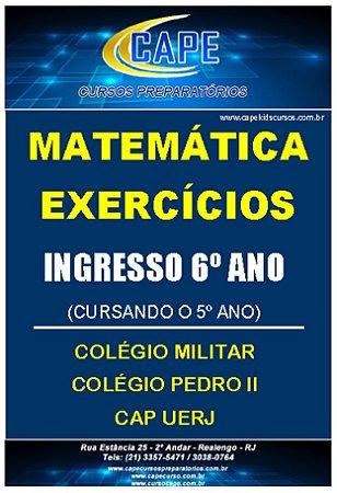 APOSTILA MATEMÁTICA-EXERCÍCIOS-6º ANO (IMPRESSO)