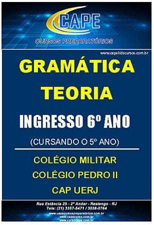 APOSTILA GRAMÁTICA-TEORIA-6º ANO (IMPRESSO)