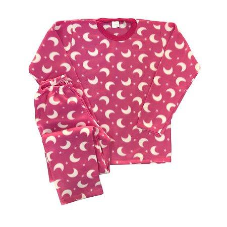 Pijama Infantil Soft LUA PINK