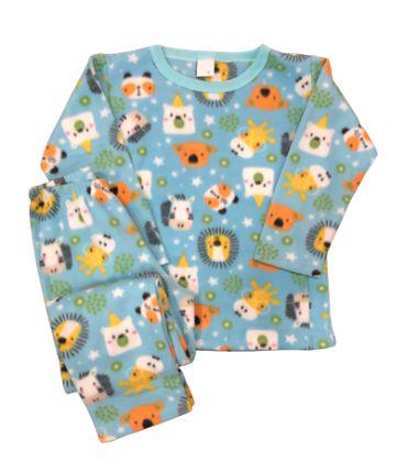 Pijama Infantil Soft SAFARI BLUE