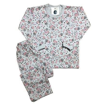 Pijama Flanela MILK